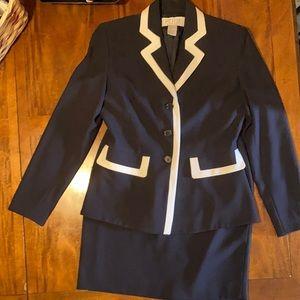 PETITE SOPHISTICATE Jacket & Skirt Set